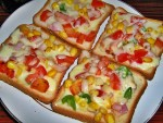 Cheese Veggie Toast