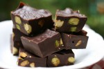 No-Bake Nutty Chocolate Fudge