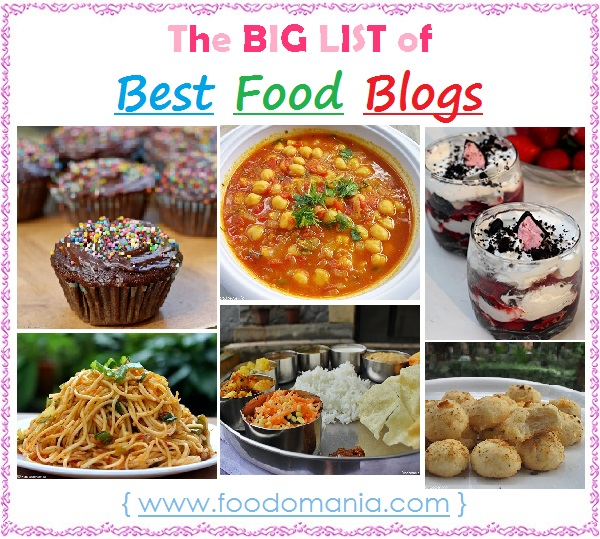 list of best food blogs