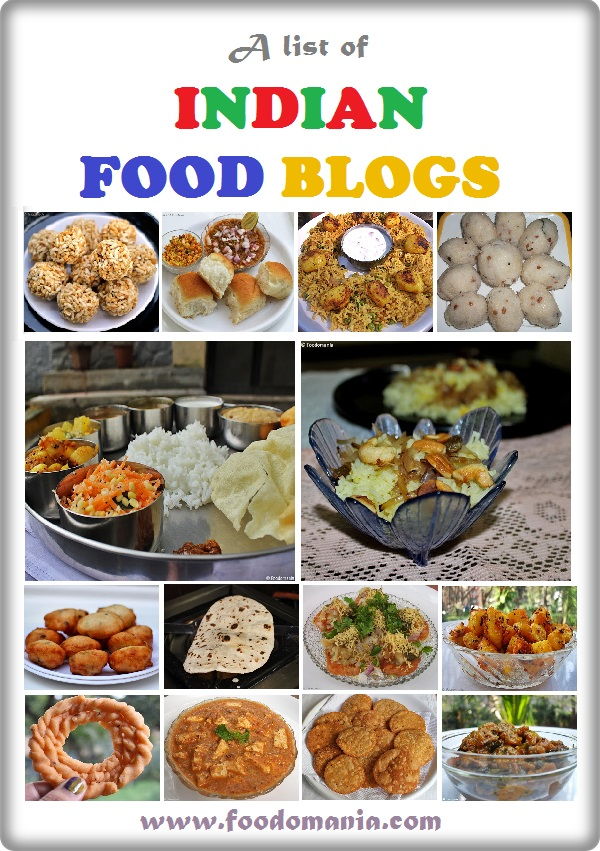 List of best Indian Food Blogs