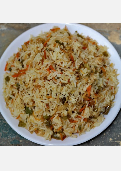 Chinese Vegetable Fried Rice image