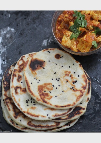 Butter Kulcha Recipe by Foodomania