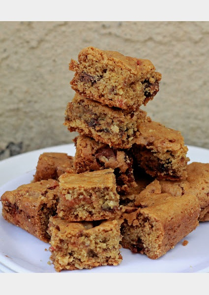 Butterscotch Cookie Bars image