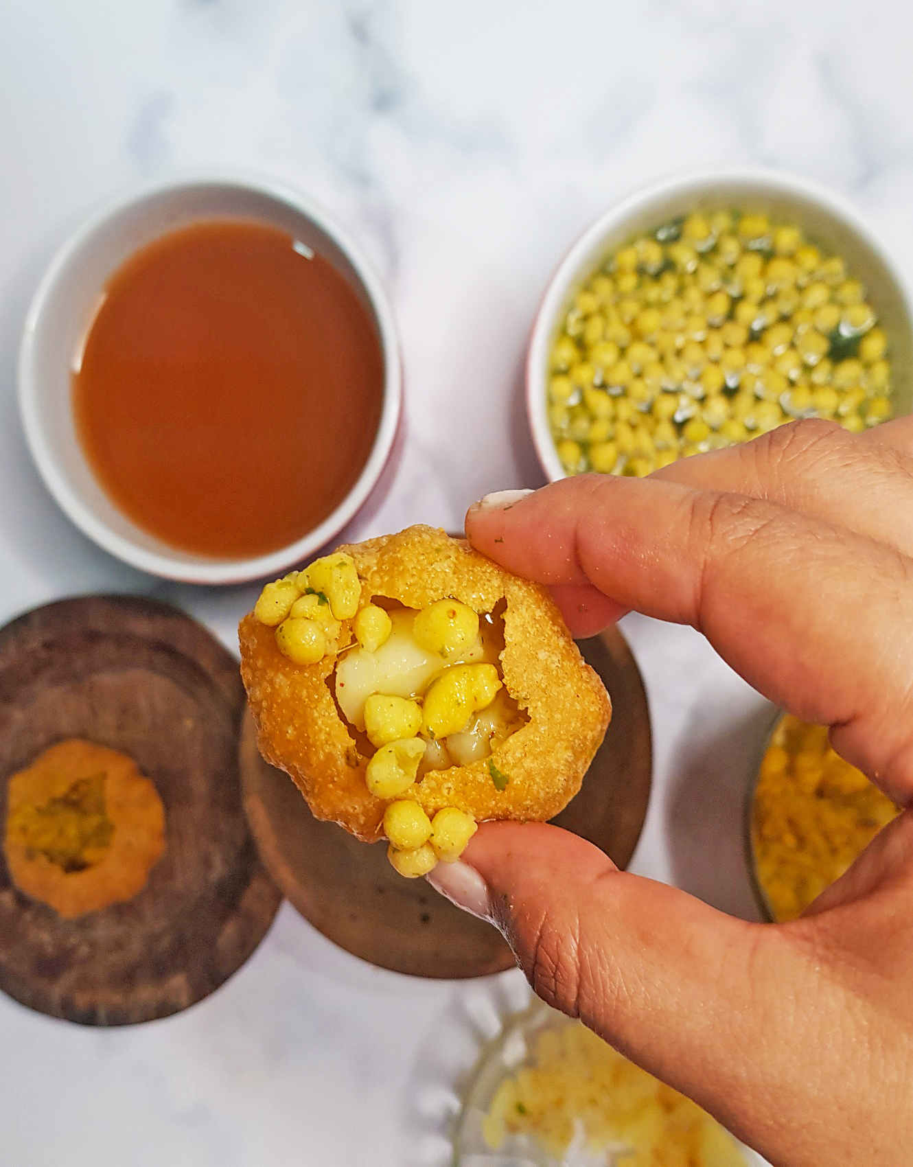 Pani Puri Recipe by Foodomania