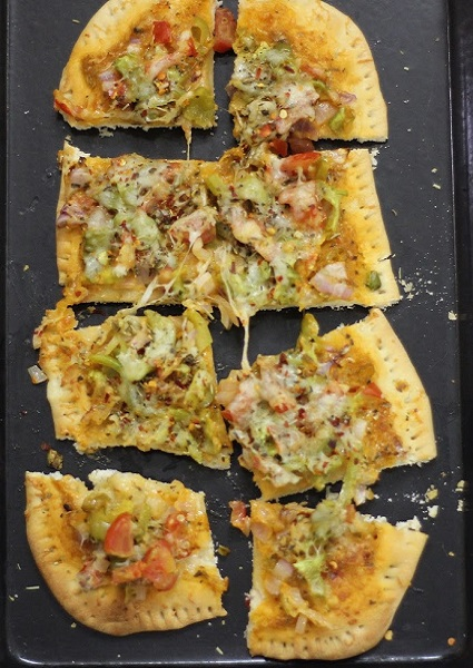 Roasted Veggie Pizza image