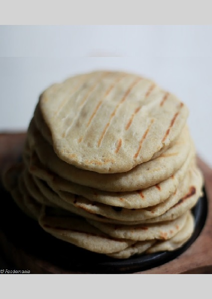 Grilled Whole-Wheat Pita Bread image
