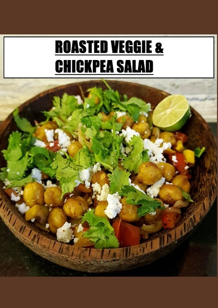Roasted Chickpea & Veggie Salad image