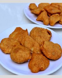 Vegetable Bhajiyas - Bajji - Featured