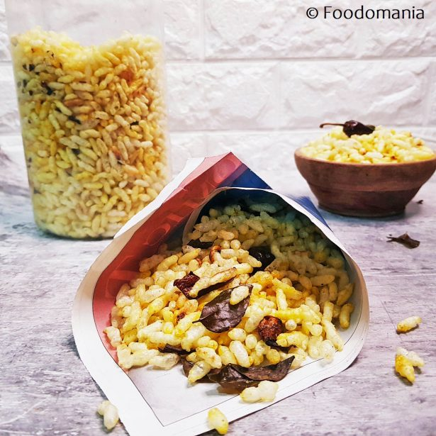 Masala Bhel Recipe by Foodomania | Quick Murmurua Chiva Recipe | How to make crunchy spiced puffed rice snack
